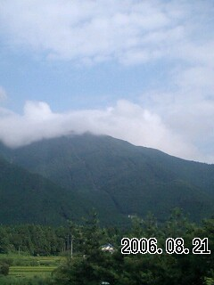 060821 今日は薄曇り