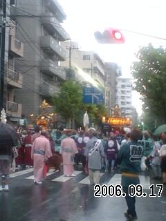 060917-3 東京も雨が