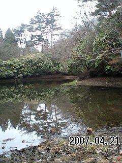 070421-2 新池、瓢箪池、バンガロー池