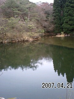 070421-5 だんご奥池、ガルピン池、星野池、川西池