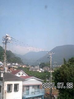 070728 富士は雲の中