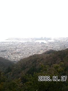 080127-2 金鳥山から黒五山