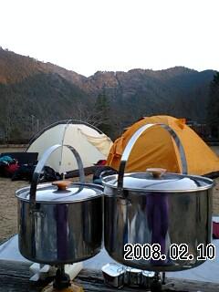 080210-4 川湯キャンプ場 17:00
