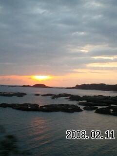 080211-4 周参見の夕日