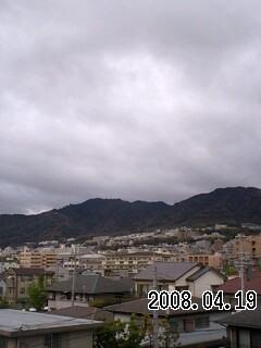 080419 今日は曇天