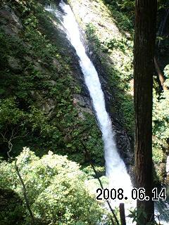 080614-2 三の滝、わさび大滝