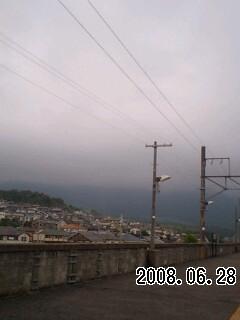080628 雨は何時から?→Re:おはようございます。