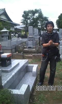 080810-2 墓参から原宿