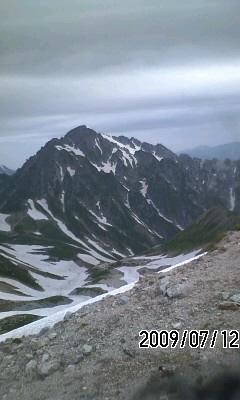090712 雄山経由で雨の下山