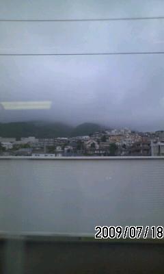 090718 今日は雨