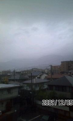 091205 雨