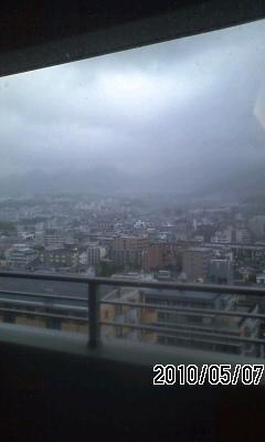 100507 今日は雨のち曇り?