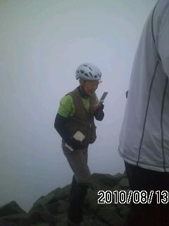 100813-2 西穂高岳
