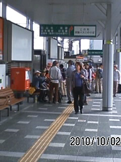 101002 石山駅集合