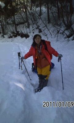 110109 積雪150cm