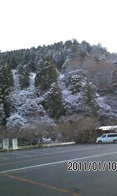 110110-4 雪融け