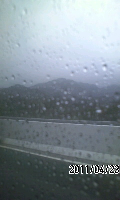 110423 今日は雨