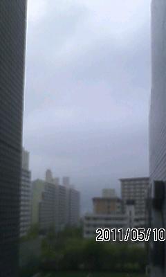 110510 今日明日は雨