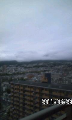 110528 今日は雨?