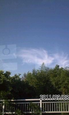 110908 巻雲