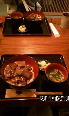 111210-2 ステーキ丼 蔵羽