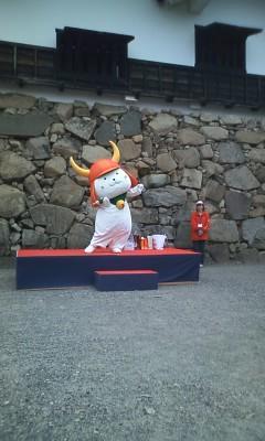 120413 彦根城とひこにゃん