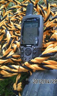 120430 GPSと虎ロープ