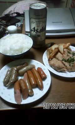 120503-3 晩ご飯は858円