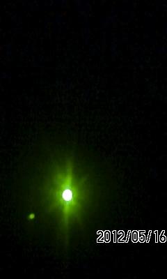 120516 日食観測の予行演習