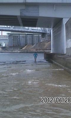 120627 住吉川河口