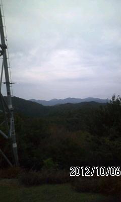 121006 知井坂で幕営