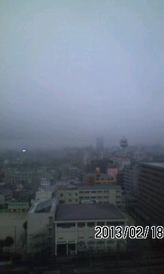 130218 今日明日は雨
