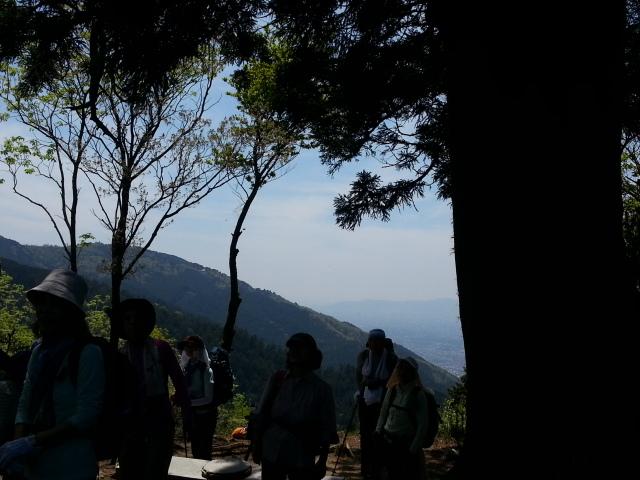 130512 比叡山北稜線、無事下山