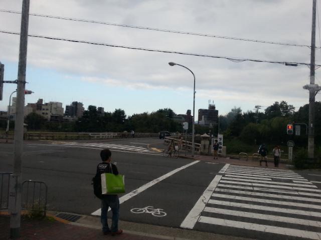 130929 京都北山は曇り空