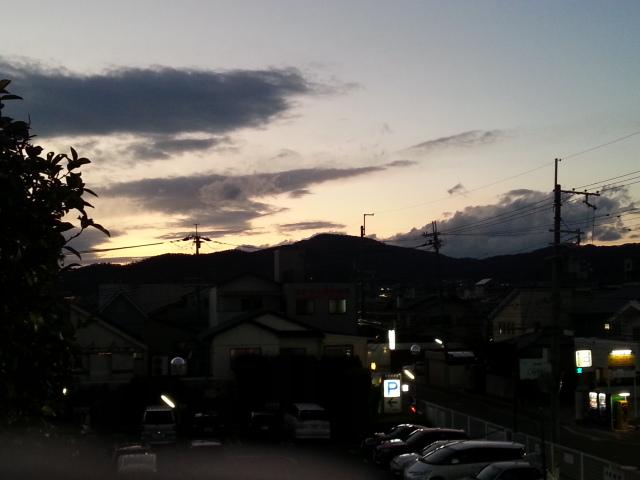 131118 今日も京都へ