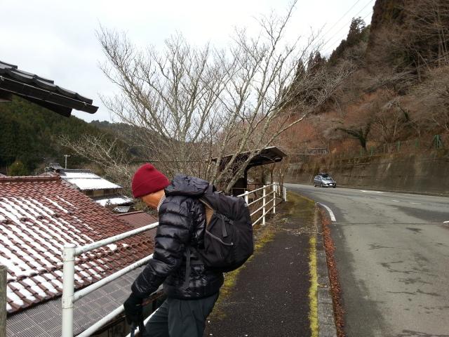 140106 笠峠から朝日峰へ
