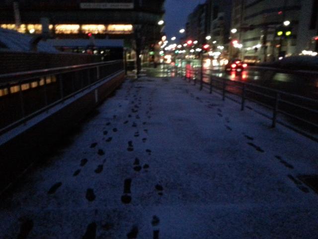 140119 京都は小雪