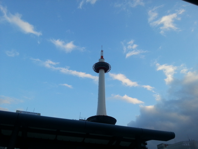 140223 京都は曇り空