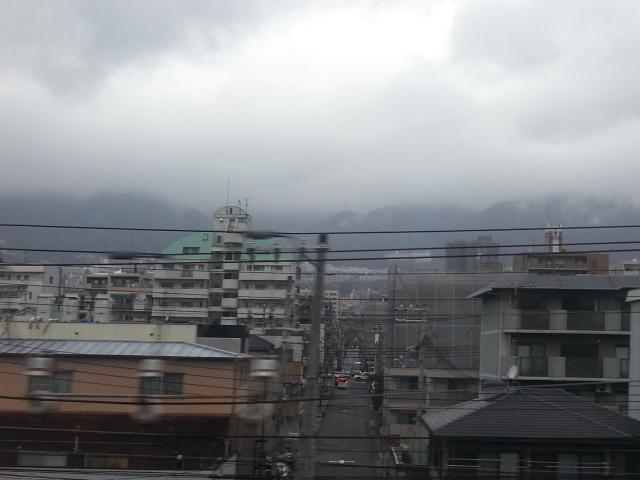 140320 今週も木曜日は雨