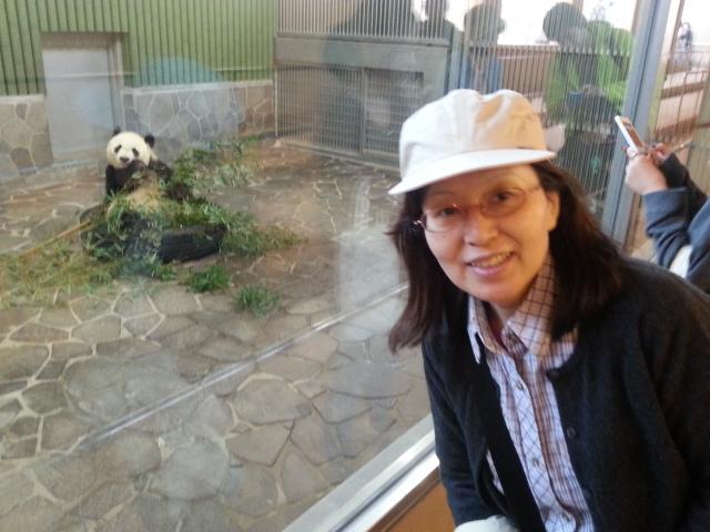 140401 花見とパンダ