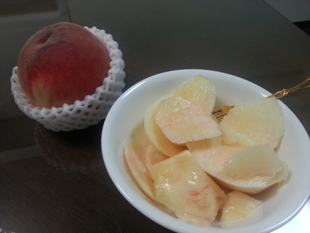 140714 桃とミルクちゃん