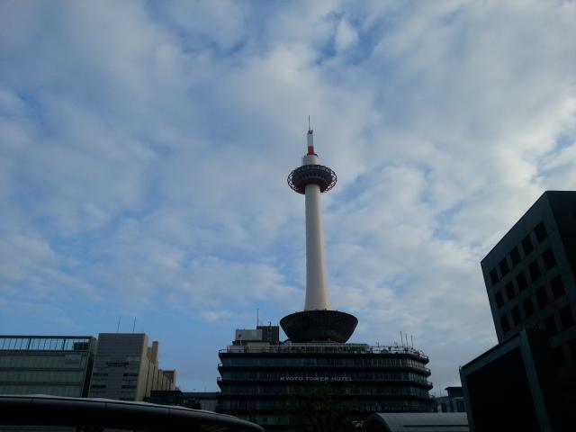 140907 京都は曇りのち晴れ