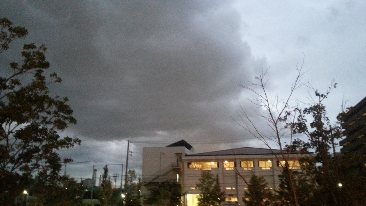 141022 不安定な天気