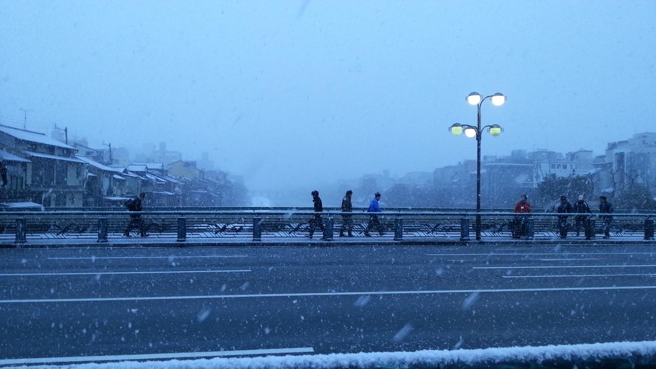 150214 京都は今日も雪景色