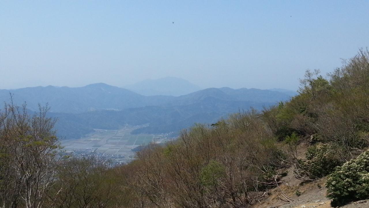 150426 三重岳から大御影山の下見完了