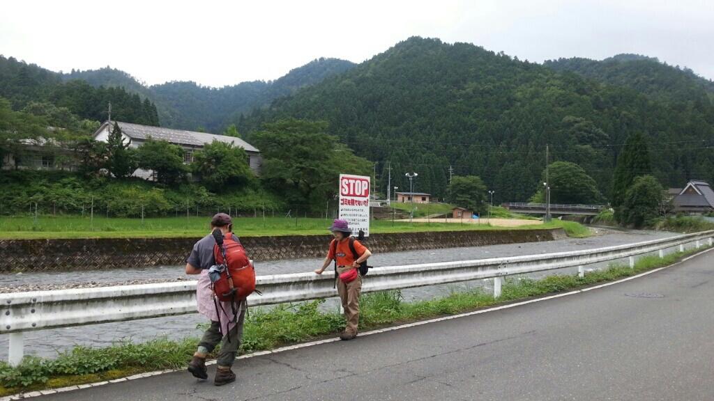 150723 神楽坂から釜糠、海老坂の下見完了