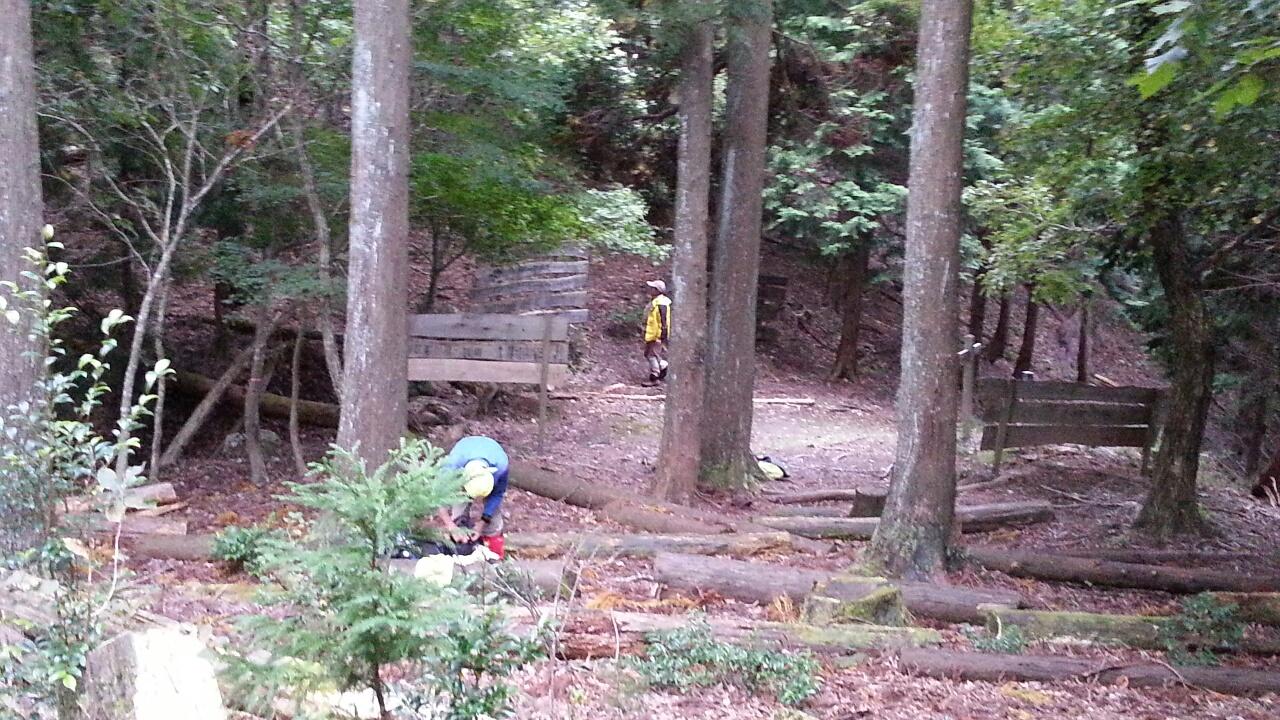 151005 地蔵杉、洞峠から無事下山しました
