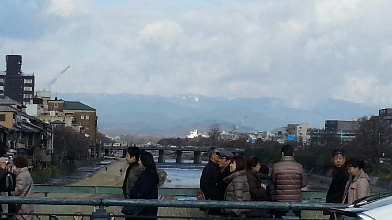 160101 北山も冠雪