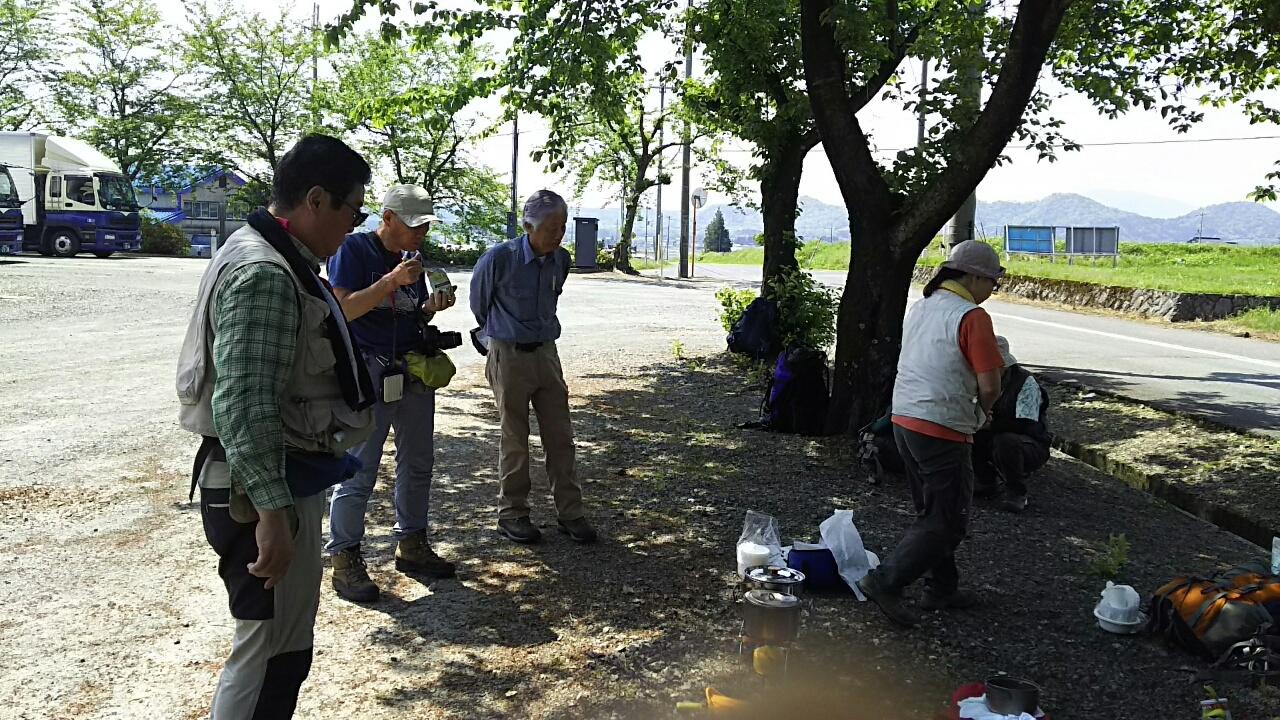160501 箱館山から処女池、近江坂の下見完了