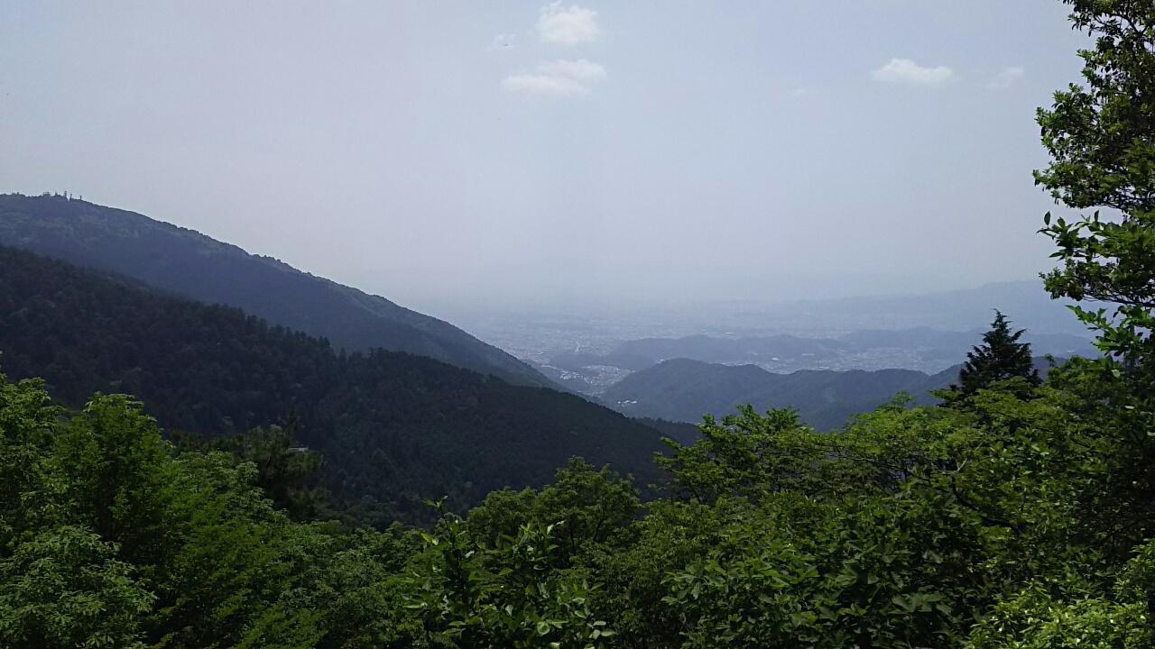 160521 大比叡から横川越の下見完了